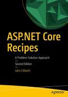 ASP NET Core Recipes PDF