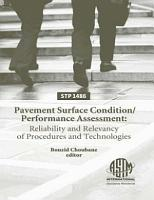 Pavement Surface Condition performance Assessment PDF