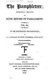 The Pamphleteer: Volume 11