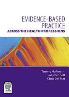 Evidence Based Practice Across the Health Professions PDF