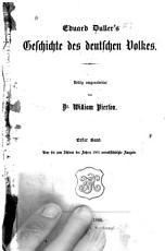 Geschichte des deutschen volkes PDF