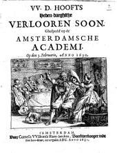Heden-daeghsche Verlooren Soon: Volume 1
