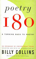 Poetry 180  A Turning Back to Poetry
