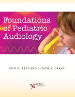 Foundations of Pediatric Audiology PDF