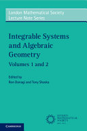 Integrable Systems and Algebraic Geometry Set PDF