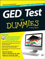 GED Test For Dummies PDF