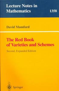 The Red Book of Varieties and Schemes Book