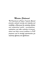 Inspector General  United States Department of Defense Semiannual Report to the Congress  October 1  1997   March 31  1998 PDF
