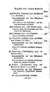 Baierische Landtags-handlungen in den jahren 1429 bis 1513: Band 11