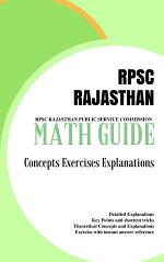 Math Guide Book RPSC RAJASTHAN PUBLIC SERVICE COMMISSION
