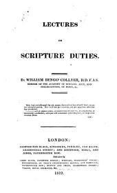 Lectures on Scripture duties