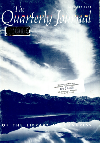 The Quarterly Journal of the Library of Congress PDF
