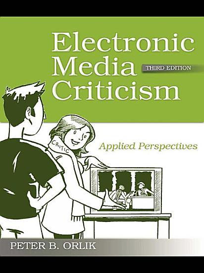Electronic Media Criticism PDF