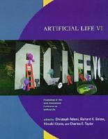 Artificial Life VI PDF
