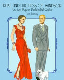 Duke and Duchess of Windsor Fashion Paper Dolls in Full Color