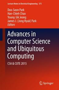 Advances in Computer Science and Ubiquitous Computing PDF