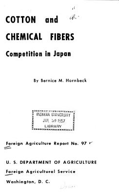 Cotton and Chemical Fibers Competition in Japan PDF
