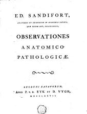 Observationes anatomico-pathologicae: Volumes 1-2
