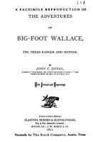 The Adventures of Big Foot Wallace PDF
