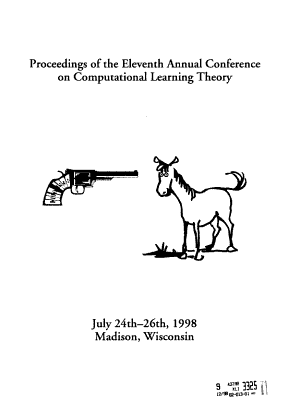 Proceedings of the     Annual ACM Conference on Computational Learning Theory