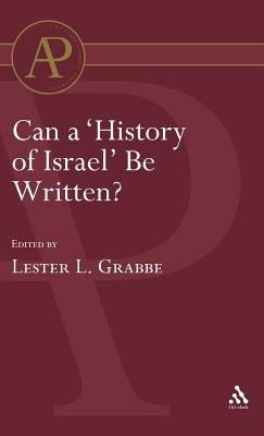 Can A History Of Israel Be Written