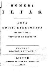 Homeri Ilias: Τόμος 2