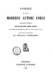 Poesie di alcuni moderni autori corsi