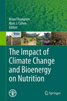 The Impact of Climate Change and Bioenergy on Nutrition PDF