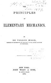 The Principles of Elementary Mechanics