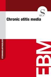 Chronic otitis media