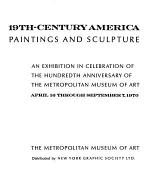 19th-century America: Paintings and Sculpture