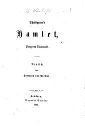 Shakspeare's Hamlet ... Deutsch von H. von Plehwe