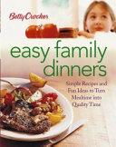 Betty Crocker Easy Family Dinners PDF