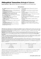 Philosophical Transactions PDF