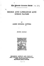 Books and Libraries: And Other Papers