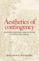 Aesthetics of contingency PDF