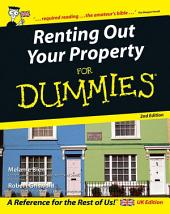 Renting Out Your Property For Dummies: Edition 2