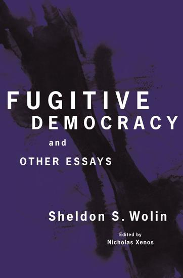 Fugitive Democracy PDF