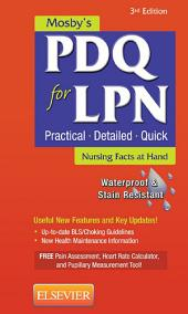 Mosby's PDQ for LPN - E-Book: Edition 3