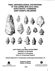 Final Archaeological Excavations at the Leipsic Site  7K C 194A   State Route 1 Corridor  Kent County  Delaware PDF
