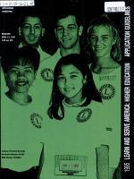 1995 Learn and Serve America PDF