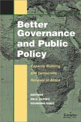 Better Governance and Public Policy PDF