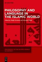 Philosophy and Language in the Islamic World PDF