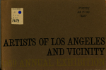 Artists of Los Angeles and Vicinity