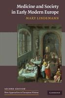 Medicine and Society in Early Modern Europe PDF