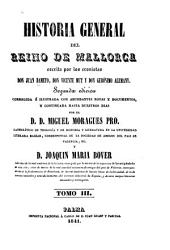 Historia general del reino de Mallorca: Volumen 3