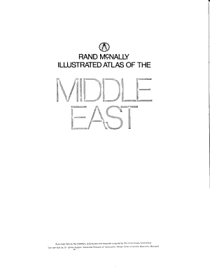 Rand McNally Illustrated Atlas of the Middle East