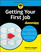Getting Your First Job For Dummies PDF