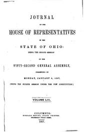 Journal of the House of Representatives of the ... General Assembly of the State of Ohio ...