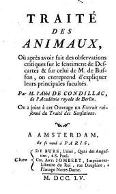 Traité des animaux (etc.)